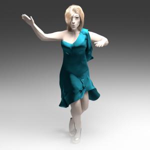 Tancerka -autorka inż. Patrycja Pawleta