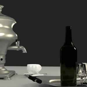 kitchen table- autor dr n.t. Monika Marecka