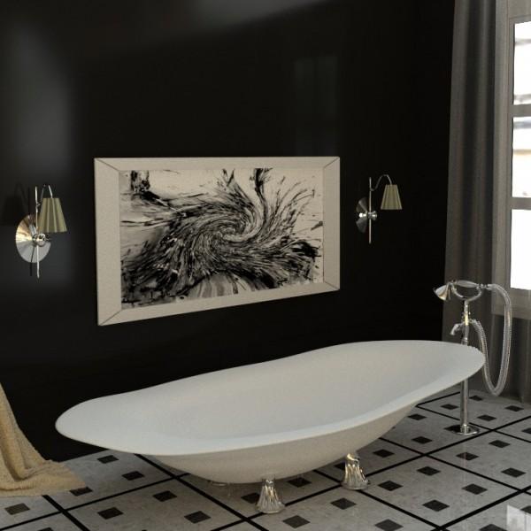 Projekt łazienki- autor dr n.t. Monika Marecka
