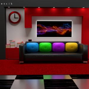 Modern interior design – autor Sławomir Mojeścik
