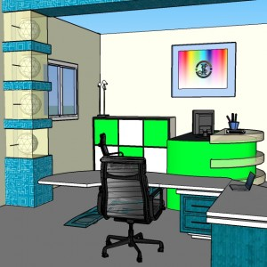 office room- autor Krystian Duc