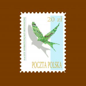 znaczek -autor Krystian Duc