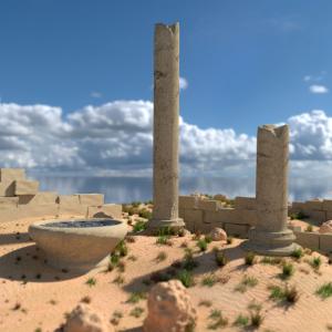 Ruiny śródziemnomorskie- Arkadiusz Kubica
