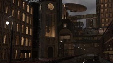 Steampunkowe miasto- Mateusz Piętka